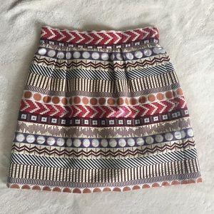 NWT Geo Mini Skirt -- Nomad by Morgan Carper